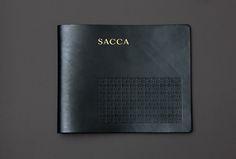 SACCA leather menu