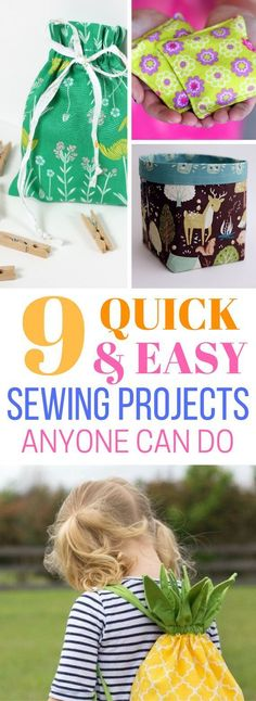 Anyone who sews will know what I mean when I say, you WILL get lost in it for hours! Sewing is a great passion project that can not only put a smile on your face but can even put a couple of bucks into your pocket. Easy Sewing Projects For Beginners | Sew