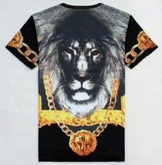 T-shirt Lyon or Urban Sapes 17€99 Portez la royauté du lion !