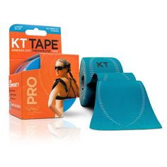 KT TAPE PRO Elastic Kinesiology Therapeutic Tape - 20 Pre-Cut 10-Inch Strips ** You can find more details by visiting the image link.