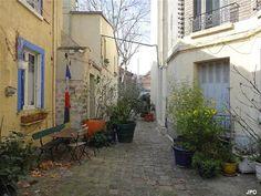 Impasse du Petit Modèle au niveau du 19 avenue Stephen Pichon Paris 75013.