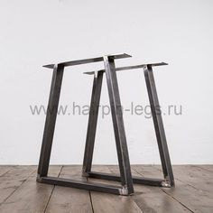 Industrial Table, Modern Industrial, Dining Table Legs, Dining Room, Desk Dimensions, Design Loft, Bar Stools, Furniture, Home Decor