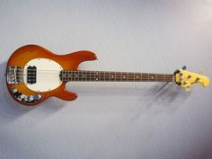 Ernie Ball Musicman Stingray. A classic.