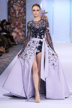 Catwalk photos and all the looks from Ralph & Russo  Autumn/Winter 2016-17 Couture Paris Fashion Week