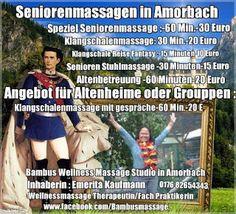 My Wellnessmassage Studio in Amorbach mit Affiliate and Network Marketing with all my Life . : Seniorenmassage ( kann auch inspirieren  mit Alten...