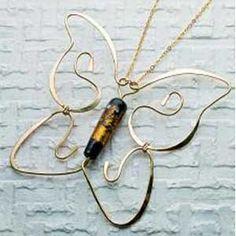Fluttering Butterflies Jewelry Making Tutorial by Carolyn Baum