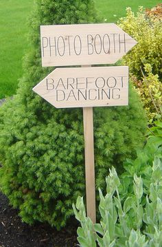 DIY Wedding Sign Kit, Unpainted, Rustic, Raw Wood. Wedding Directional Sign and Arrows.  You Design Your Sign.. $54.95, via Etsy.