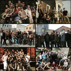 6 seasons of The Walking Dead