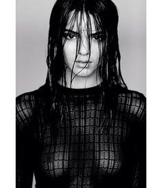 Kendall Jenner Bares Breasts in Racy Photoshoot: Is She the Next Kim Kardashian? Robert Kardashian, Khloe Kardashian, Kardashian Kollection, Kris Jenner, Kendall Y Kylie Jenner, Bruce Jenner, Kendall Jenner Photoshoot, Charlie Barker, Alena Shishkova