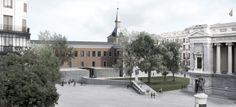Souto de Moura . Ampliación del Museo del Prado . Madrid (1)