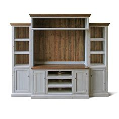 Entertainment Center Media Console Home Theater Reclaimed Wood TV Stand Handmade