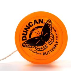 Genuine Duncan Butterfly Yo-Yo Classic Toy - Orange The Duncan Butterfly YoYo is the original String Trick yo yo. The plastic Butterfly has a fixed metal axle and cannot be screwed apart. The wide sha