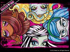 Monster High Eyes Wallpaper 1024x768 - monster-high Wallpaper