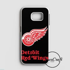 Detroit Red Wings Drw Nhl Team Logo Samsung Galaxy S7 Edge Case | casescraft
