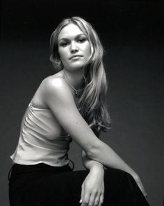 Julia Stiles  this one makes me happy :) reminds me of the drunk party dancing on 10 things. :)