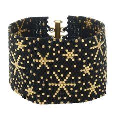 Peyote Bracelet - Fireworks  - Exclusive Beadaholique Jewelry Kit