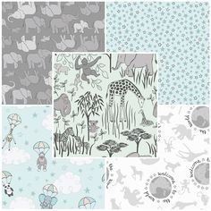 Welcome To The World - Lewis & Irene Fabric | Fat Quarter Pack Two | Empress Mills