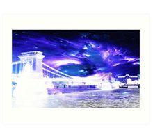 Amethyst Sapphire Budapest Dreams Art Print