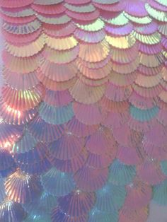 Ooooh! Mermaid scales