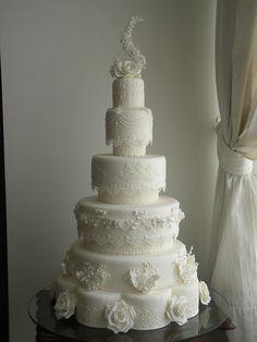 Royal Wedding - Minha versão by A de Açúcar Bolos Artísticos, via Flickr