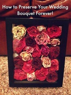 Bouquet preservation