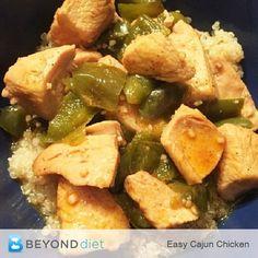 Easy Cajun Chicken -