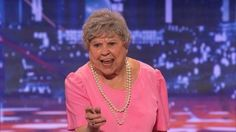 America's Got Talent: Granny G: she was funny and a good message!! lol