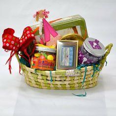 Cesta #regalo #infantiles, ideal para cumpleaños (mod2) - Confecciona tu propia cesta. Productos Daver S.L.