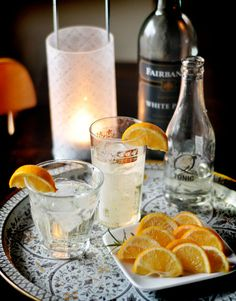 White Port & tonic. Best new summer drink!