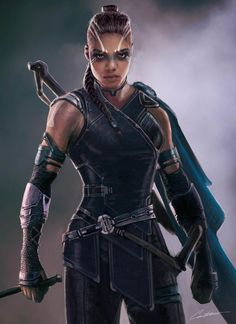 Here is Valkerie Sakar Costume Concept Design i did when i was working at Marvel Studios under Andy Park head Supervisor on Thor Ragnarok apart of the visual development team.I explored allot of different options for her Sakar look from her original comic Marvel Art, Marvel Dc Comics, Marvel Heroes, Marvel Movies, Marvel Avengers, Asgard Marvel, Comic Book Characters, Fantasy Characters, Female Characters