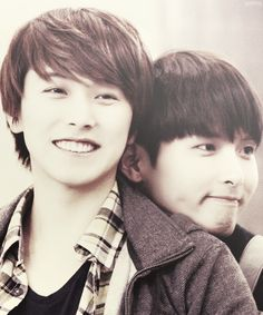 Sungmin and Ryeowook