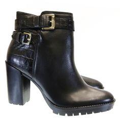 Bota Cano Curto Preta GR1 Sapri by Moselle | Moselle sapatos finos femininos! Moselle sua boutique online.