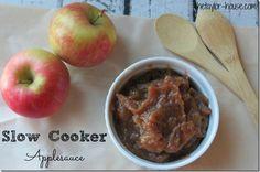 Homemade Applesauce in the Slow Cooker #slowcookerrecipes #homemadeapplesauce