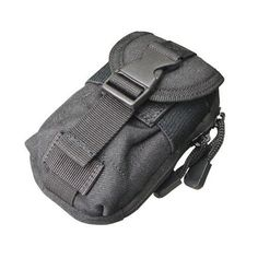 Condor i-Pouch Double Zippered Compartment Front Pocket with Side-Release Buckle and Hook & Loop Closure Multiple carrying options: MOLLE, Belt or Carabiner Tactical Wear, Condor Tactical, Nylons, Camera Pouch, Duty Gear, Geek Gear, Electronics Gadgets, Iphone, Survival Gear