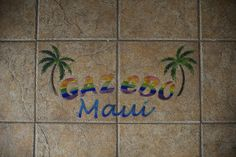 Gazebo Restaurant in Lahaina Lanai Island, Lahaina Maui, West Maui, Gazebo, Hawaii, Restaurant, Vacation, Kiosk, Vacations
