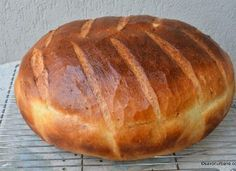 Cooking Bread, Bread Baking, Bread Recipes, Baking Recipes, Dutch Oven Bread, Breakfast Recipes, Dessert Recipes, Tapas, Romanian Food