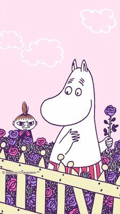 Beast Wallpaper, Iphone Wallpaper, Little My Moomin, Moomin Wallpaper, Character Illustration, Illustration Art, Moomin Valley, Tove Jansson, Cartoon Images