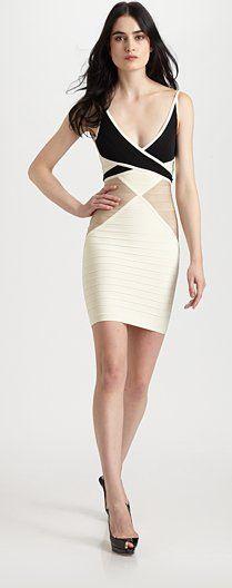 Beige Bandage Dress