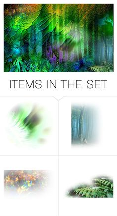 """""""Deep in the Woods"""" by sweetannie ❤ liked on Polyvore featuring art"""