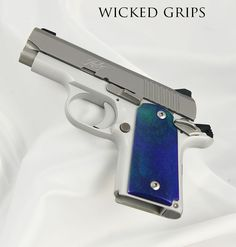 KIMBER MICRO 9MM CUSTOM PISTOL GRIPS AURORA - Kimber micro 9mm wicked pistol grips aurora gem 1Save those thumbs & bucks w/ free shipping on this magloader I purchased mine http://www.amazon.com/shops/raeind  No more leaving the last round out because it is too hard to get in. And you will load them faster and easier, to maximize your shooting enjoyment.  loader does it all easily, painlessly, and perfectly reliably