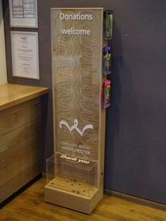 Theatre Royal Winchester donation box