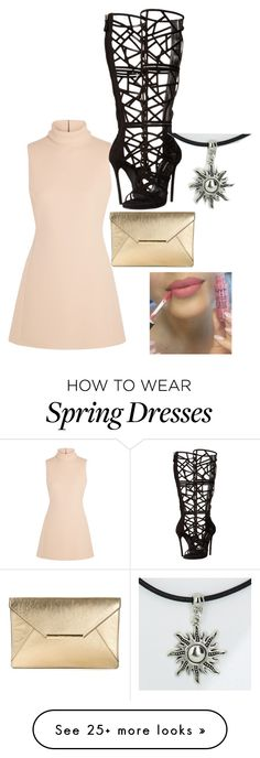 """likes it..."" by nataliegamez on Polyvore featuring moda, Calvin Klein Collection, Dsquared2, MICHAEL Michael Kors y NYX"