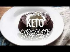 This Keto Chocolate Lava Mug Cake Recipe will knock your socks off! Seriously! If you have only one mug cake recipe to try, THIS would be it! This takes the regular 1-minute microwave chocolate mug cake and turns it up a notch! There's no time for boring keto desserts!