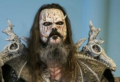 Tomi Putaansuu (born 15 February 1974), better known by his stage name Mr. Lordi, is the lead vocalist in the Finnish heavy metal/hard rock band Lordi. His band Lordi went on to win the Eurovision Song Contest in 2006, scoring the most points for a single entry ever until the record was beaten on Eurovision Song Contest 2009.