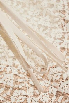 Stella McCartney - Lace And Embroidered Tulle Blouse - Ivory - IT