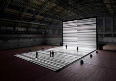 Ryoji Ikeda - Transfinite, Lexington Armoury, 2011