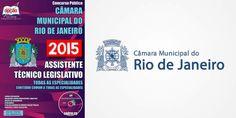 Nova -  Apostila Assistente Legislativo Câmara Municipal do RJ  #apostilas