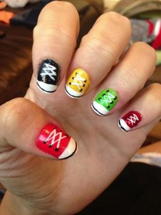 sneaker nails - Google Search