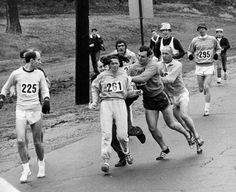 """The Woman attacked for running a Marathon fifty years ago in 1967""   How far have we come - and there is still a long and hard path ahead of us - Women of the World unite to show that we have the mettle - Shaku Atre"