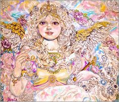 Yumi Sugai - Angel with golden pearl